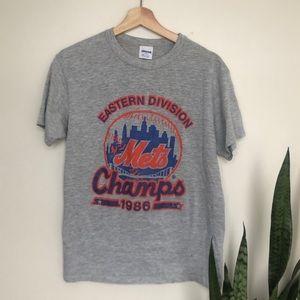 Vintage 1986 New York Mets Champion Starter Shirt